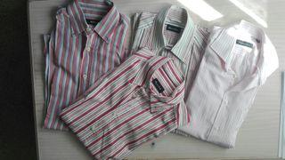 Lote de 4 camisas de marca de hombre talla M