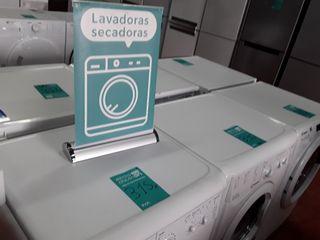 Lavadoras secadoras nuevas y con taras estéticas