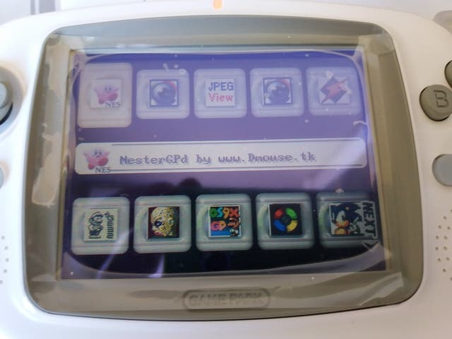 Consola GamePark GP32 Blu