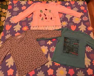 TODO A 3X2!! Camisetas niña Talla 2 años