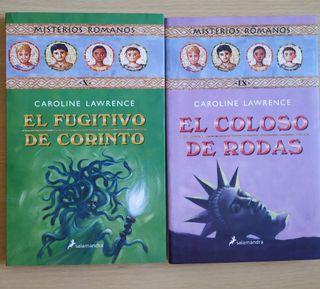 Libros infantiles Misterios Romanos