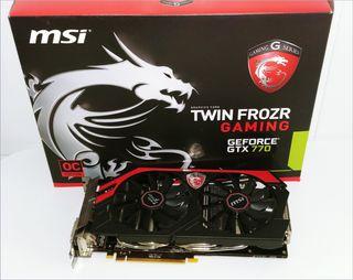 MSI GeForce GTX 770 Twin Frozr OC 4GB GDDR5