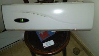 calefactor y ventilador