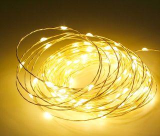 Gotas de Luz LED 5M 50LED 12V 3000K