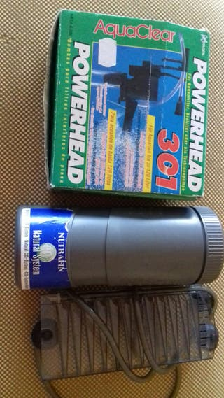 bomba acuario + reactor activo co2