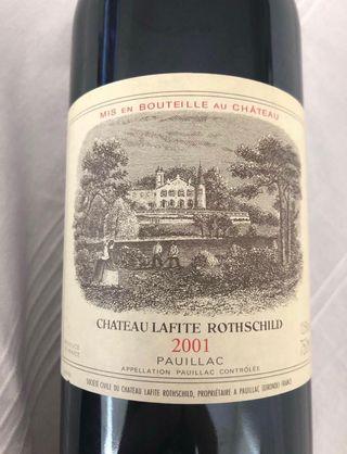 Chateau Lafite Rothschild 2001