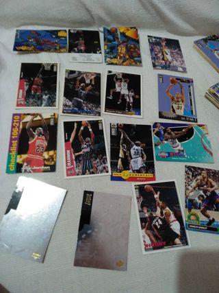 colección de cromos NBA upper deck