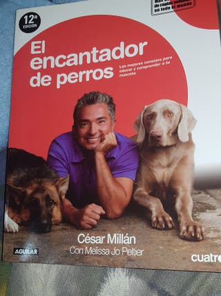 Libro El encantador de perro+líder