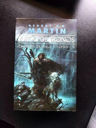 Juego de Tronos - Cancion de hielo y fuego libro 1