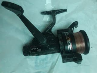 carrete pesca attack 6000