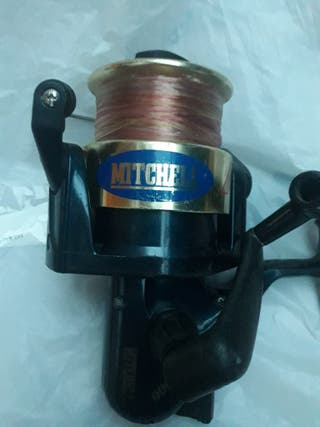 carrete pesca mitchell