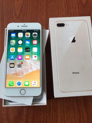 IPhone 8 Plus perfecto estado. Factura y garantia.