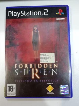 JUEGO FORBIDDEN SIREN (PS2)