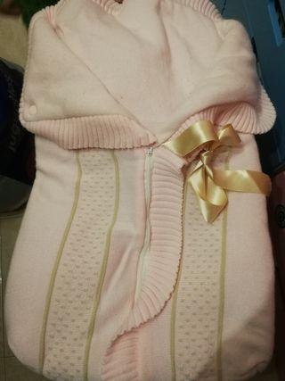 saco de lana para bebe
