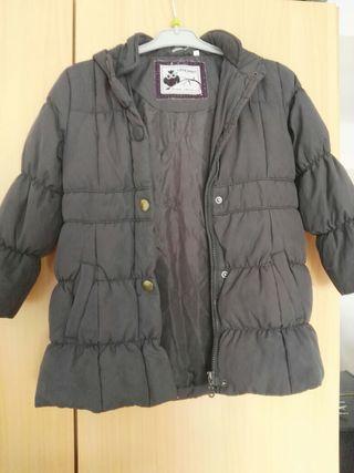 abrigo, chaqueta niña talla 6/7