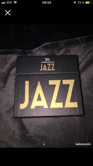 """30 legende du jazz"" disque"