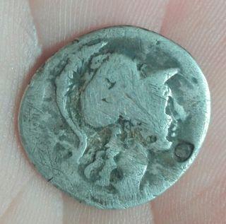 moneda romana (denario republicano)