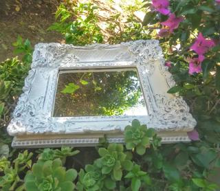 LIQUIDACIÓN Precioso Espejo decapado antiguo