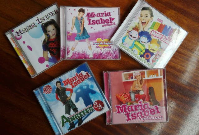 CD,DVD María Isabel Música vinilos cassetes libros