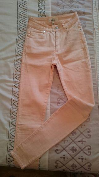 Pantalón skinny Mango talla 32