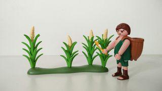 recolector de mazorcas de maiz Playmobil