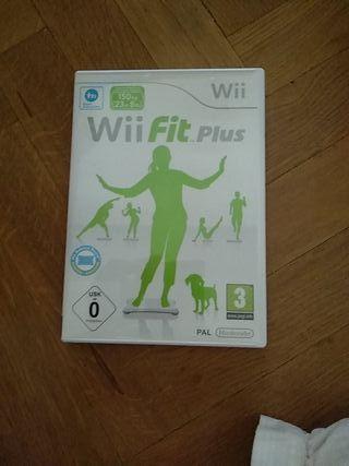 Wii Fit Plus.