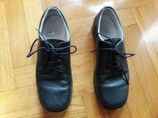 Zapatos comunión t 36 azul marino