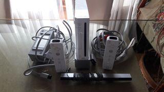 Nintendo Wii + 4 juegos. En buen estado