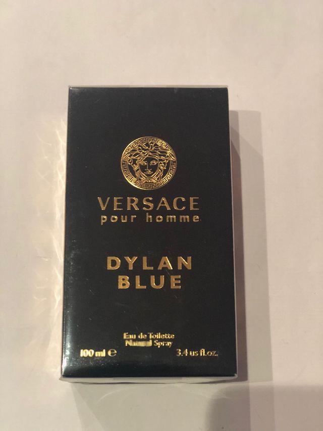 Vendo dylan blue edt de VERSACE 100 ml+envio