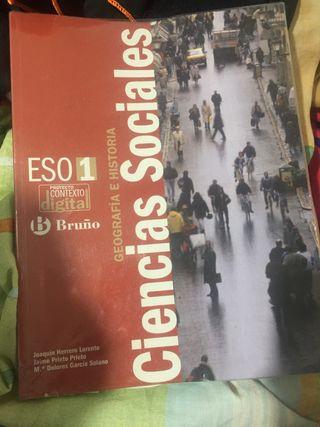 Libro ciencias sociales 1 ESO
