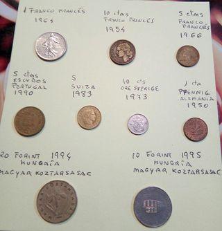 Monedas europeas antiguas