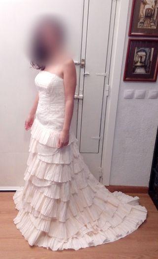 vestido de novia largos de segunda mano en cáceres en wallapop