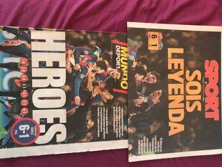 Diarios sport y mundo deportivo histórico