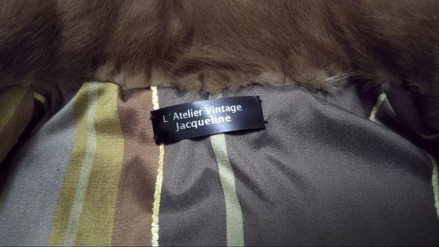abrigo visón hembra vintage