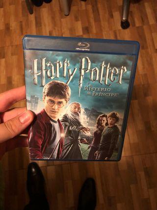 Harry Potter y el misterio del principe Blu Ray