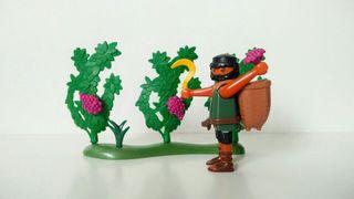 recolector de viña de Playmobil