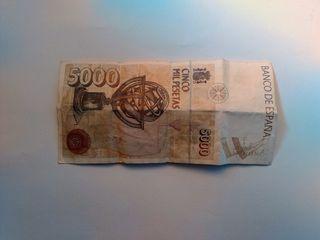 Billete 5000
