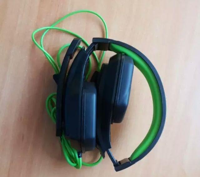 cascos para musica y video juegos stereo