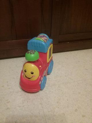 tren juguete Fisher price