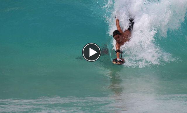 Handboard Slyde Wedge para Body Surf