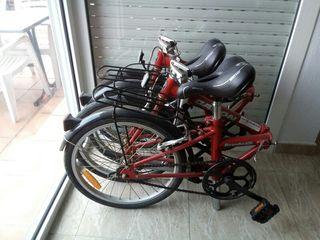 2 bicicletas plegables Dahon
