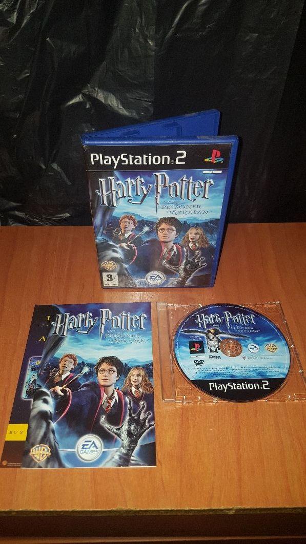 Harry Potter Y El Prisionero De Azkaban Para Ps2 De Segunda Mano Por
