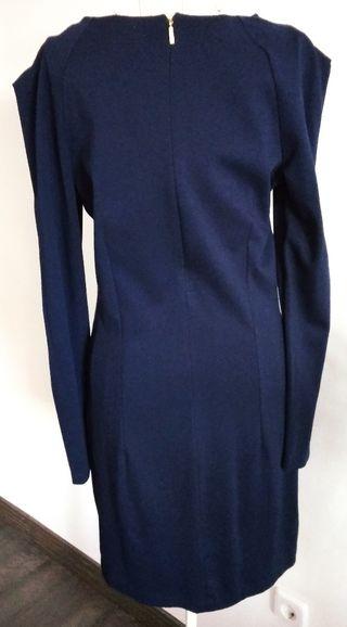 Vestido azul mango