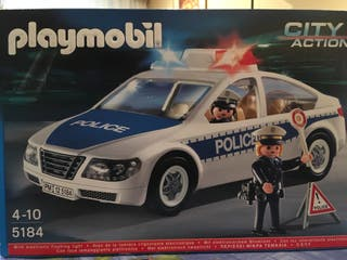 Coche policial Playmobil