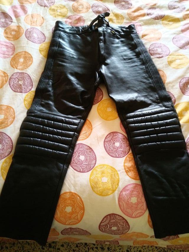 Pantalón moto retro