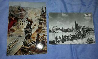 Postales de colonia y berlin segunda guerra mundia