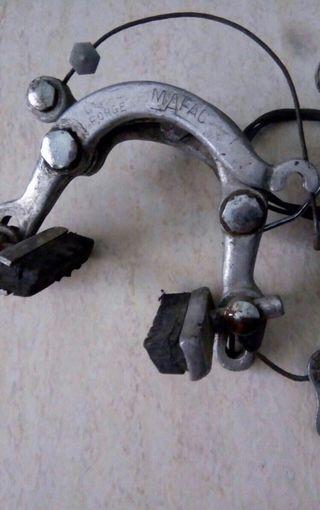 Puente freno bicicleta clásica