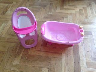 Bañera y trona nenuco