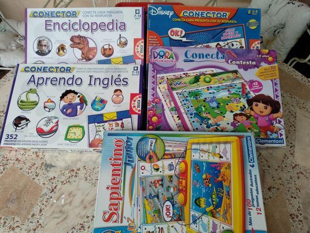 Juegos Conector Juegos De Mesa Educativos De Segunda Mano Por 20
