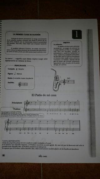 libro saxofón